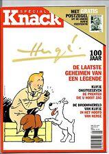 Revue TINTIN. KNACK décembre 2006. Hergé 100 Jaar.
