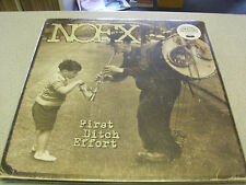 NOFX-First Ditch Effort-LP VINILE // NUOVO & OVP // download incl.