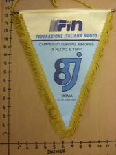 23/07/1987 European Junior Swimming Championships: Large Pennant for The Event 2