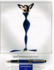 Publicité Advertising 1994 Le Stylo Plume Waterman...L'Expert