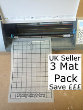 "3x (8x12"") Grid Mat pack Silhouette Cameo 2 Portrait cutting A4 Carrier sheet"