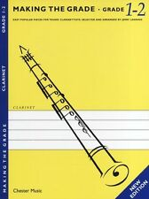 Making The Grade Grade One & Two Learn to Play Clarinet Piano Sheet Music Book