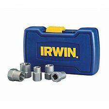 IRWIN HANSON BOLT GRIP Stripped Bolt Extractor Removers Base Set 5 Piece 39400