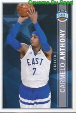 389 CARMELO ANTHONY EASTERN CONF ALL-STARS STICKER NBA BASKETBALL 2017 PANINI
