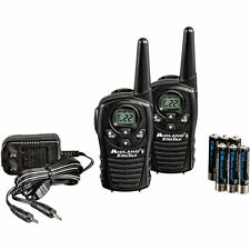 Original Woki Toki 22-Channel GMRS 2 Way Radio with 18 Mile Range Walkie Black