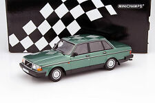 MINICHAMPS 1986 Volvo 240 GL Metallic-Green 1:18*New!