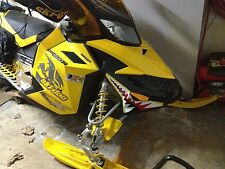 SKI DOO BRP REV XP nose cone jaws shark teeth RENEGADE FREERIDE DECAL STICKER 3