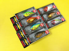Seven Special Edition Rapala Risto Rap RR-5 in 7 Colors Lures, NIB.