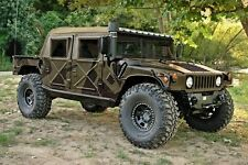 AM General M-998 H1 Humvee 4 Four Man Soft Canvas Top with Curtain - Tan