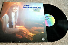 """AXEL ZWINGENBERGER """"Power House Boogie"""" (ROY DYKE) Org. 1980, Piano-Boogie m/ex"""
