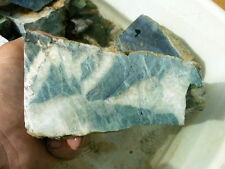 BEST GRADE 1278 GRAM JADEITE JADE CLEAR CREEK CA LAPIDARY CUTTING ROUGH SLAB CAB