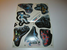 "VINTAGE GI JOE 1989 GI JOE MAIL OFFER ""STICKER POSTER"" STICKER SHEET 2 - HASBRO"