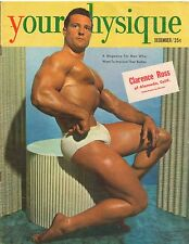 YOUR PHYSIQUE bodybuilding muscle magazine/CLARENCE ROSS Mr America 12-51