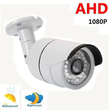 2.0Megapixel Waterproof 1080P AHD Outdoor CCTV Home Security Camera Night Vision