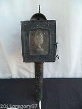 Ancienne lanterne de calèche fiacre électrifier