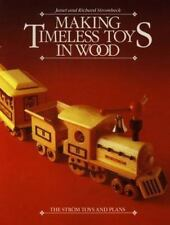 Making Timeless Toys in Wood: The Strom Toys and Plans-ExLibrary