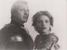 """Michelle Pfeiffer / Rutger Hauer (Pressefoto '85) - in """"Der Tag des Falken"""""""