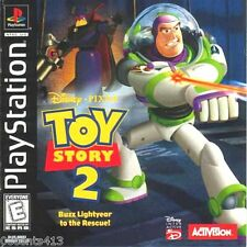 Disney's Toy Story 2 Buzz Lightyear to the Rescue! (PlayStation PS1) Save Woody!