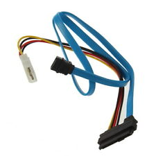 7 Pin SATA Serial ATA to SAS 29 Pin & 4 Pin Cable Male Connector Adapter SY