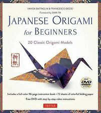 Japanese Origami for Beginners Kit : 20 Classic Japanese Origami Models for...