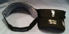UNIVERSITY OF NORTH CAROLINA TARHEELS WOOL CLASSIC BLACK TEAM LOGO VISOR BY NIKE