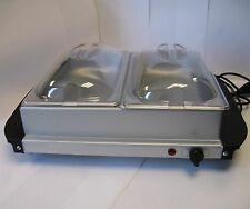 UZO1™ BUFFET SERVER & FOOD WARMING TRAY (HEAVY DUTY STAINLESS STEEL MATERIAL
