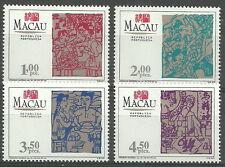 Macau - Sitten und Gebräuche: Frühlingsfest Satz postfrisch 1994 Mi. 752-755