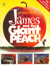 ROALD DAHL DISNEY'S JAMES AND THE GIANT PEACH STICKER STORYBOOK PUFFIN 1996 1st