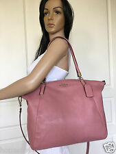 NWT COACH SEXY DUSTY PINK COLORED LEATHER HOBO SHOULDER CROSSBODY BAG PURSE