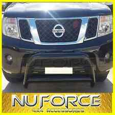 NISSAN NAVARA D40 (2005 - 2015) - NUDGE BAR / GRILLE GUARD (BLACK)