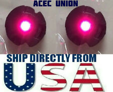 2 X High Quality MG 1/100 QANT Raiser Gundam PINK LED Lights - U.S.A. SELLER