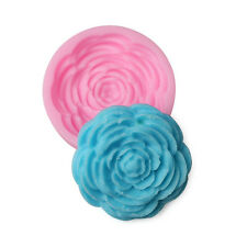 Peony Silicone Mould Cake Mold Soap Mold For Candy Chocolate Baking