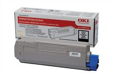 OKI Black Toner Cartridge (Yield 8,000 Pages) for C5850/C5950 Colour Printers