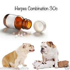 """Herpes 10g combinación Homeopática 30c Nosodes """"criadores Choice"""" Cachorro de parto"""