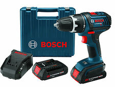 """Bosch DDS180-02-RT 18V Compact Tough 1/2"""" Drill/Driver Kit w/Factory Warranty"""