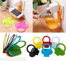 NEW Portable Mobile Cell Phone Charge Charging Wall Foldable Holder Stand Cradle