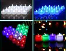 1pc Color Led Tea Light Flameless Battery Flickering Candles Wedding Party