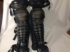 All-Star Youth Catchers Equipment Shin Guards  See pictures - Good Condition