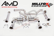 "Milltek Focus RS MK2 3"" Ultimate Turbo Back Exhaust with DownPipe and Decat"