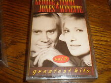 George Jones/Tammy Wynette  CASSETTE NEW Greatest Hits Volume 2