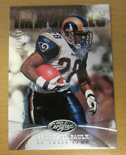 2013 PANINI CERTIFIED #165/999 MARSHALL FAULK ST. LOUIS RAMS SUPER BOWL COLTS