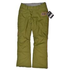 Dakine ALIA 10K Womens Snowboard Ski Pants Army Heather Medium NEW