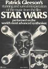 STAR WARS Patrick Gleason synthesiser music(1978) Original magazine advert