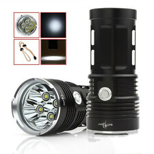 10000LM SKYRAY 4 x CREE XM-L T6 LED Light 3-Mode Flashlight 4 x 18650 Torch Lamp