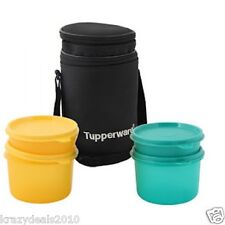 Tupperware Executive Lunch Box / Kit  + Free Insulated Big + Set of 4 + New
