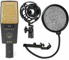 NEW AKG C414XL II Condenser Mic Best Offer!! Auth Dealer - Best Deal on ebay!