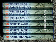 Hem White Sage Incense 6 x 20 Stick, 120 Sticks Total NEW {:-)