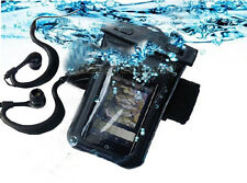waterproof case/Cover+arm Belt+earphone for Samsung Galaxy Note 2 3 5 7 S4 S5 s6