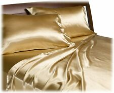 Gold Satin Sheet Set Divatex Home Fashions Royal Opulence Gold Bedding Queen