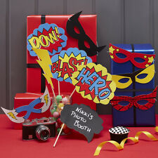 COMIC SUPERHERO - PHOTO BOOTH PROPS